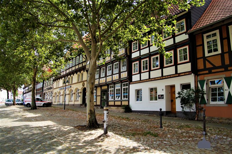 Fachwerkhäuser auf dem Holzberg